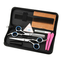 Hair Scissor home use Hair Hairdressing Scissors Kit Hair Clipper Razor Thinning cutting Scissor Barber haircut set