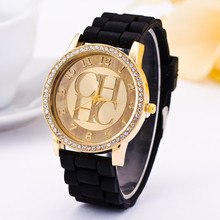 2019 New Famous Brand Gold Casual Quartz Watch Women Sports Silicone Strap Watches Relogio Feminino Men Wtaches Hot Sale Clock цена