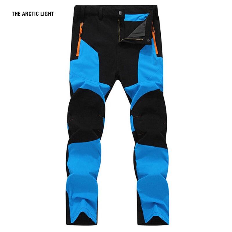 THE ARCTIC LIGHT New Climb Fish Trekking Camping Men Pants Quick Dry UV Resistant Active Pant For Man waterproof Trousers 4XL стоимость