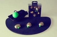 Gloden shell (With three Peas) Magic trick, 2014 new magic gimmick
