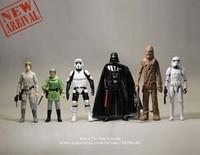 Disney Star Wars 8 11cm 6pcs/set Action Figure Posture Model Anime Decoration Collection Figurine Toys model for children gift