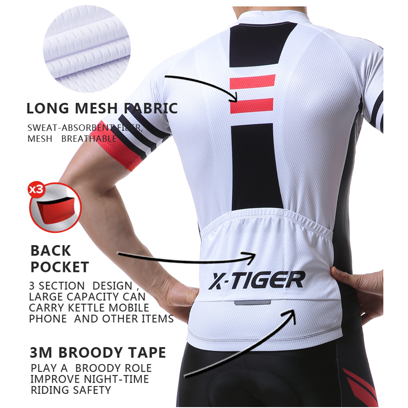 Image 3 - X TIGER 2019 Summer Short Sleeve Pro Cycling Jersey Mountain Bicycle Clothing Maillot Ropa Ciclismo Racing Bike Clothes Jerseys-in Cycling Jerseys from Sports & Entertainment