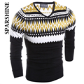 Warm Pullover Men Sweater Brand New Man's Wool Sweater Winter Casual Long Sleeve Pullovers Christmas Knit Sweater