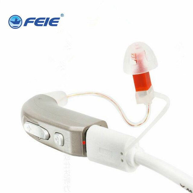 Mini BTE RIC Hearing Aid Rechargeable Ear Listening Device High Power Hearing Aides 2 channel MY-33 Free Shipping mini listening device in ear hearing aid enhancer hearing for the deaf s 900 free shipping