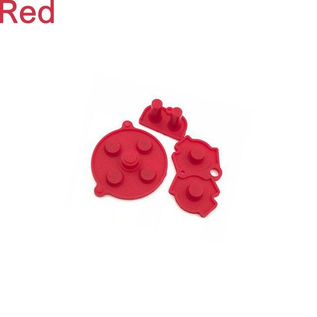 1 компл красочных резиновый проводящий a b d pad для nintend фотография