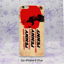 """Knock, Knock, Knock, PENNY"" iPhone cover"