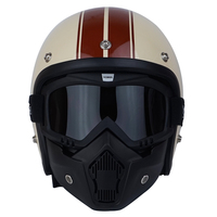 Free shipping THH vintage motorcycle helmets jet scooter vespa helmet pilot open face moto helmet can add vintage helmet shield