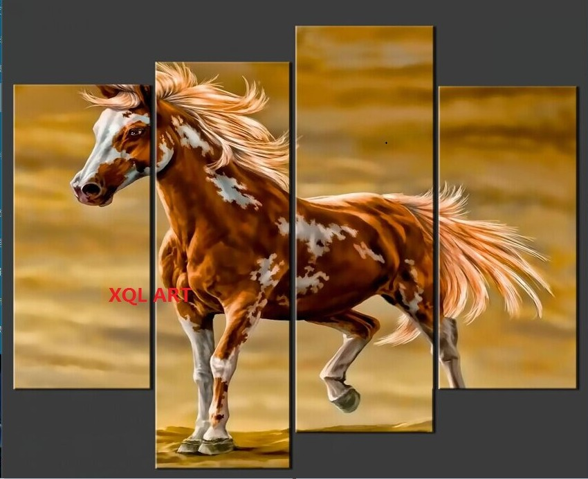 XQL Boutique de ARTE 4 unids/set Enmarcado Moderna Pinturas de ...