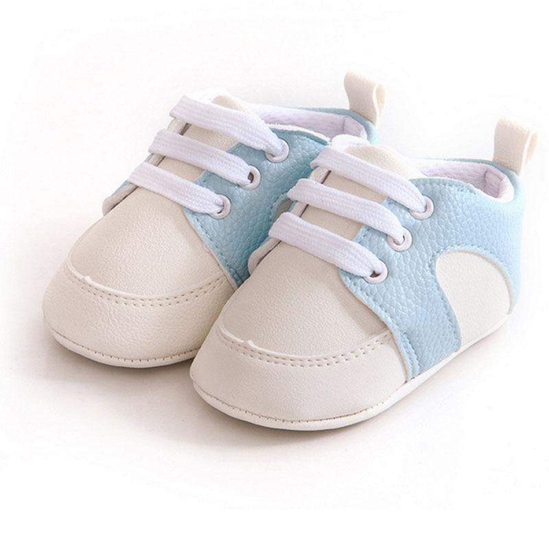 Prosty styl Baby boy dziewczyna PU miękkie dno Płaskie buty - Buty dziecięce - Zdjęcie 4