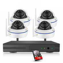 8CH 1080P Wireless NVR Kit CCTV Security System 2.0MP Indoor Dome WiFi IP Camera P2P Video Surveillance Set