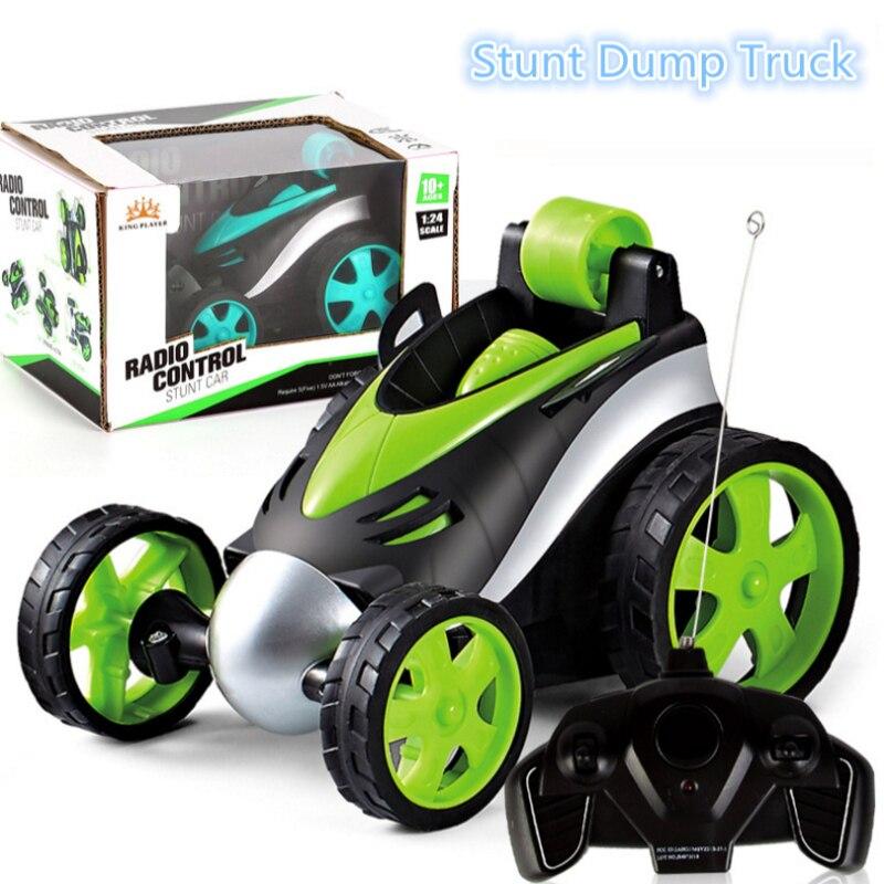 Rc carro 90 ° vertical andando sem fio rc caindo carro dublê 360 rotação colisão-resistente corpo rc carro brinquedos das crianças presente