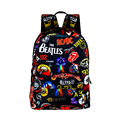 Rock Band The Beatles / ACDC / Iron Maiden / Metallica Backpack Boys Girls Rucksack School Bags for Teenager Women Men Backpack