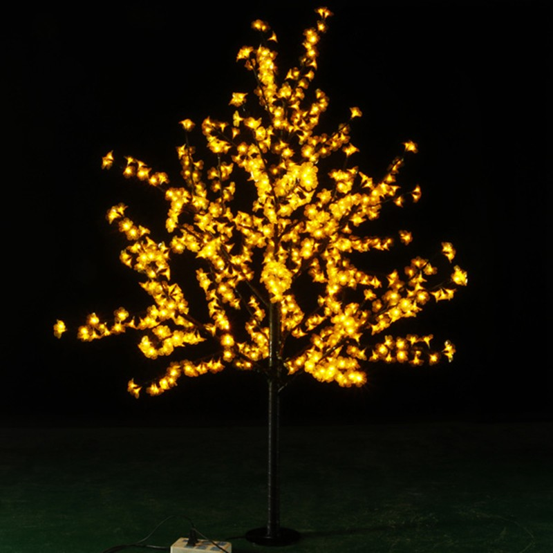 Image 2 - Outdoor Waterproof Artificial 1.5M Led Cherry Blossom Tree Lamp 480LEDs Christmas Tree Light for Home Festival Decoration-in Holiday Lighting from Lights & Lighting