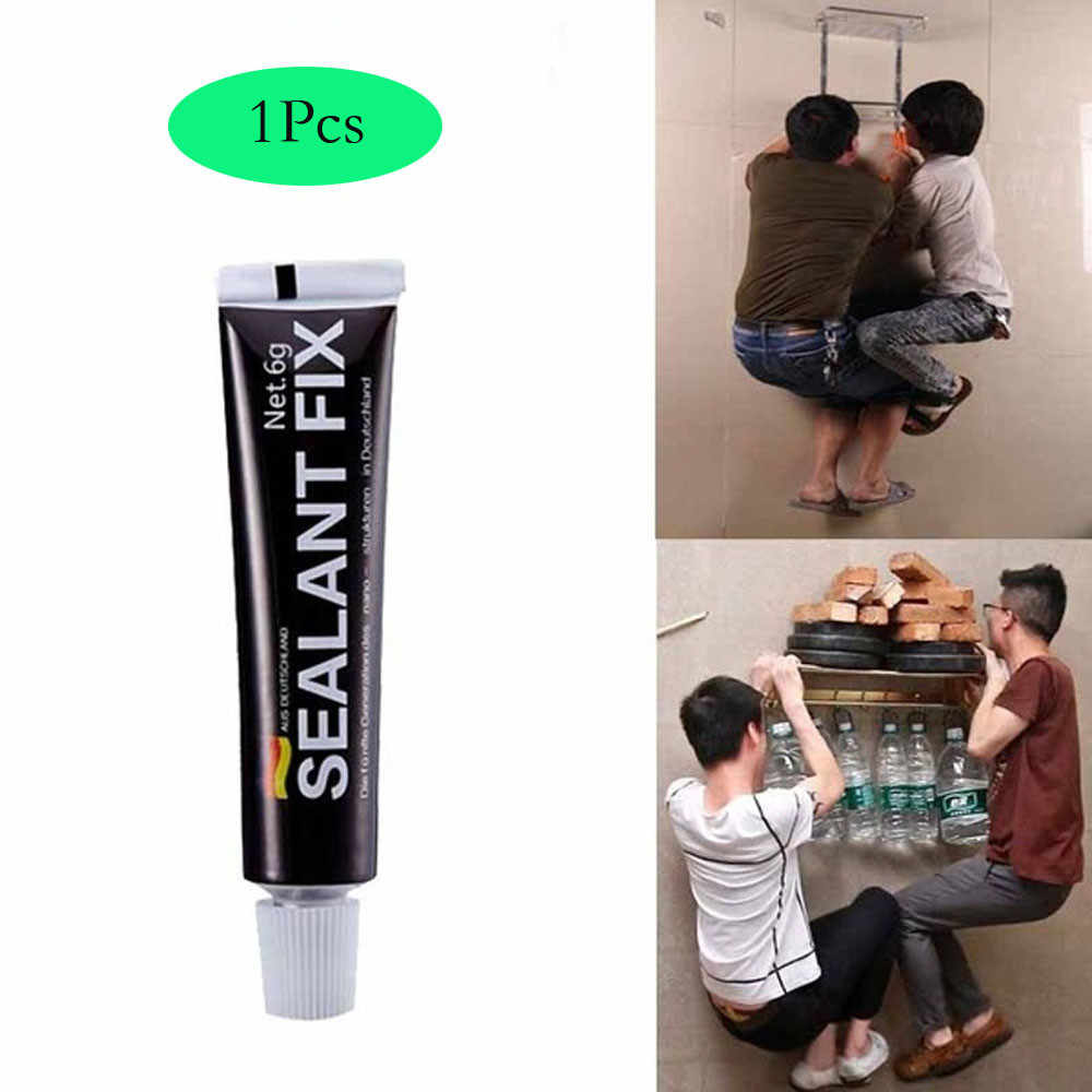 1Pcs Glass Glue Polymer Metal Adhesive Sealant Fix Waterproof Quick Drying Glue