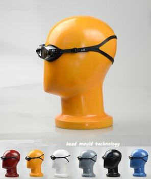 Newest !Fashion High-Grade Colorful FiberglassHead Model For Hat/ Wig/ Headphones Display