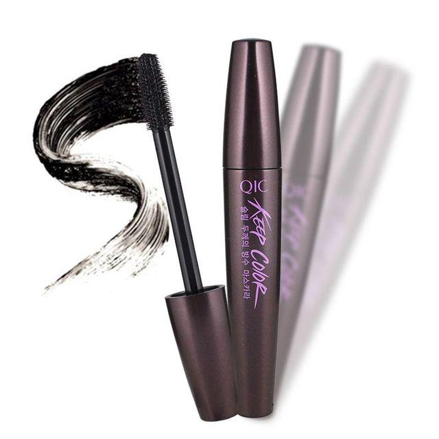 1PC New Fashion Natural Long Lasting Curling Black Waterproof Fiber Mascara EyeLashes Makeup Tool  Beauty False Eyelashes
