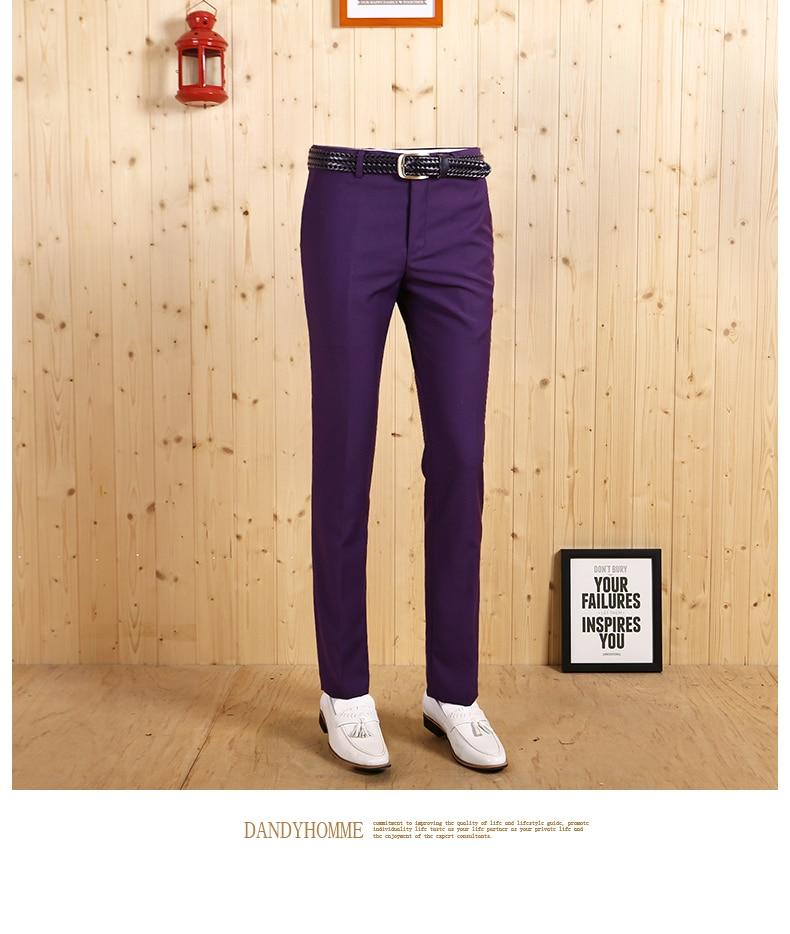 Высокое качество Демисезонный Смарт Повседневное Для мужчин деловой, Свадебный, для жениха, длинные штаны, комплект для отдыха из застежка-молния Стройный брэндовый костюм