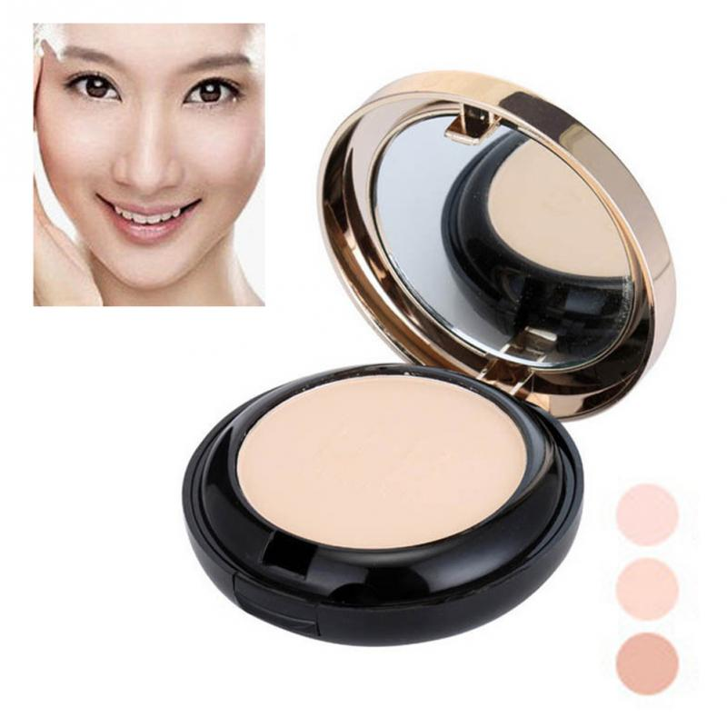 Professional BB Powder Concealer Long Lasting Loose Foundation Makeup Base Cosmetic Smooth Oil Control image