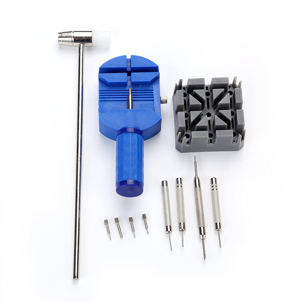11pcs/Set Watch Repair Tools Watch Case Clock Opener Link Pins Remover Kits Tool Practical Watch Accessories