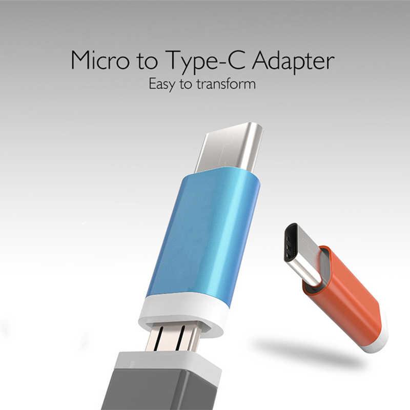 Fffas tipo-c jack carregador adaptador tipo c cabo conversor de carregamento para xiaomi mi6 macbook letv 2 lenovo zuk z1 google nexus 5x6 p