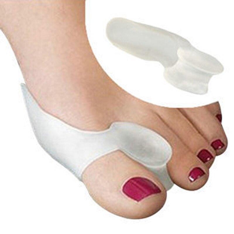 1 par/lote escarabajo trituradora Toes hueso Ectropion exterior electrodoméstico tecnología profesional de la salud cuidado de los pies Hallux Valgus back To back correcta