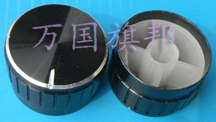 Free Delivery. Potentiometer knob Black lace aluminum knob 17 mm diameter 26 mm 26 * 17 mm high