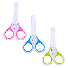 3 вида цветов безопасные кусачки для ногтей из нержавеющей стали, ножницы, маникюрный резак для новорожденных, удобный уход за ребенком, безопасная детская игрушка для ногтей