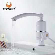 Купить с кэшбэком Electric Tankless Water Heater  Kitchen Bathroom Faucet Type Instant Installation