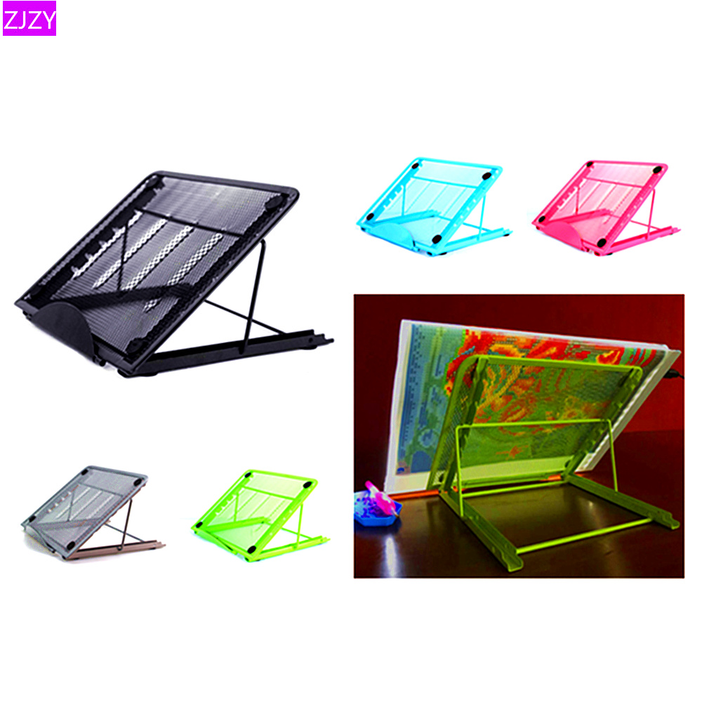 Other Drawing Supplies Stands, Holders & Car Mounts A4 Led Diamond Painting Light Pad Metal Holder For 5d Embroidery Cross Stitch Elegant In Style