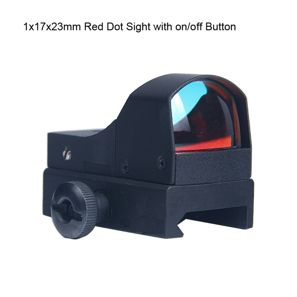 mira reflex 3 moa com botao on off para airsoft caca 5 0014 05