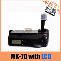 MeiKe MK 7DL LCD Battery Grip for Canon 7D