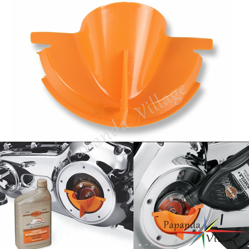 Automobiles & Motorcycles Symbol Of The Brand Papanda New Orange Plastic Primary Oil Fill Funnel For Harley Touring Trike Models 2006-2017 Dyna 2007-2018 Softail Commodities Are Available Without Restriction