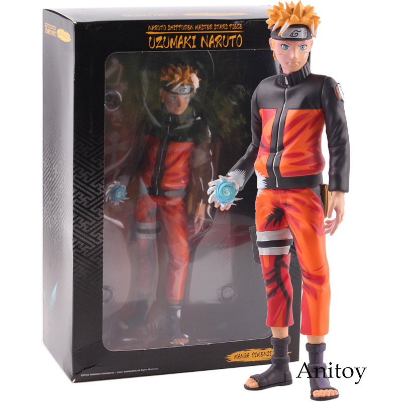 Anime Naruto Shippuden Master Stars Piece MSP Uzumaki Naruto Figure Manga Dimensions PVC Action Figures Collectible Model Toy one piece figure anime super master stars piece portgas d ace pvc action figure collectible model toy 31 5cm kt4828