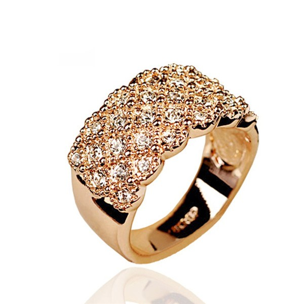 Italina-CZ-Diamond-Jewelry-wedding-Rings-for-women-18K-Rose-Gold-platd-Crystals-rings-anel-aneis