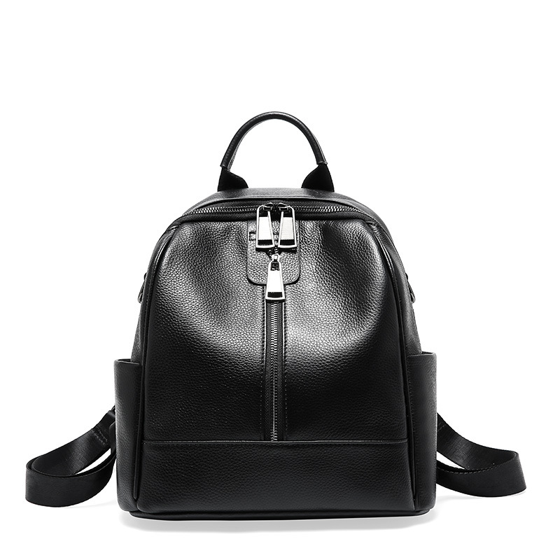 High quality suede leather casual womens backpack new wild fashion high large capacity soft ladies travel bag