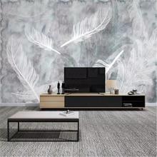 beibehang Custom wallpaper 3d photo mural beautiful silk jewelry dandelion romantic TV background wall paper decoration