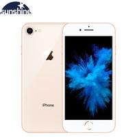 Cellphone Apple iPhone 8 Hexa core IOS Unlocked Fingerprint Original 2G RAM 64GB/256GB ROM 4G LTE 4.7''12.0 MP Camera