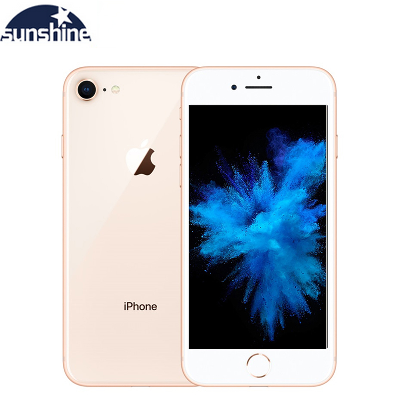 Apple IPhone 8 Hexa-core IOS Unlocked Fingerprint Original 2G RAM 64GB/256GB ROM 4G LTE 4.7''12.0 MP Camera Cellphone  IPhone 8