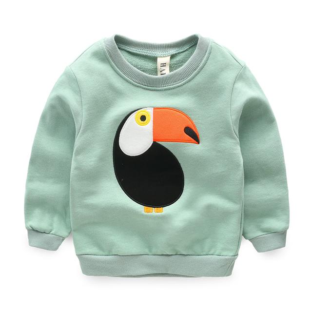 Meninos t-shirt do bebê camisola de algodão primavera Nova roupa Dos Miúdos