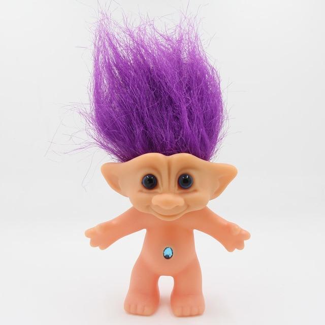 1piece Trolls Doll 10cm Troll Leprocauns Dam Dolls Kids Toys Gifts For The New Year