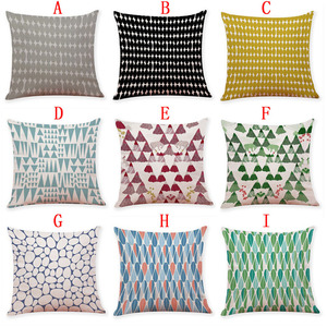 Image 4 - Line Letter Pattern Pillowcases Cover Super soft fabric Home Cushion Simple Geometric Throw Bedding Pillow Case Pillow Covers