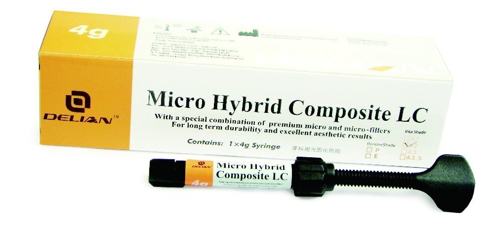 Dental Composite Micro Hybride Composite LC Shade A1 A2 A3 A3.5 vocabulario elemental a1 a2 2cd