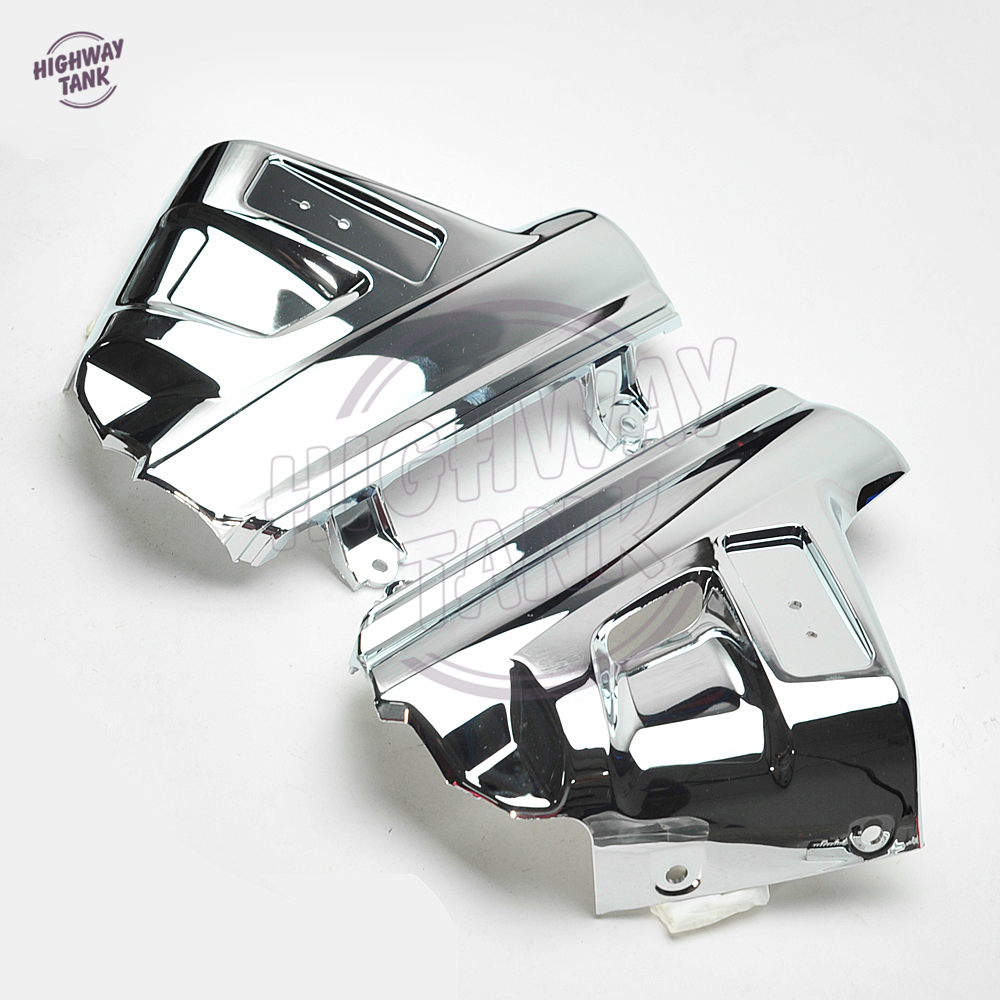 Chrome Motorcycle Front Fender Cover Moto Mudguard Frame Decoration - Պարագաներ եւ պահեստամասերի համար մոտոցիկլետների - Լուսանկար 4