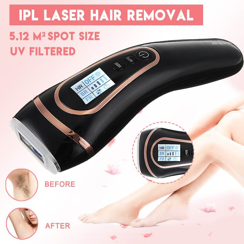 3in1 IPL Laser Epilator Armpit Hair Removal Machine Permanent Hair Removal Machine Face&Body Skin Rejuvenation Bikini Trimmer