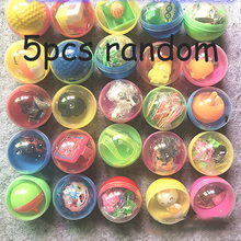 5PCS Novelty Mini Surprise Egg Ball Creative Toys Gashapon Kids Toy Gadget Children