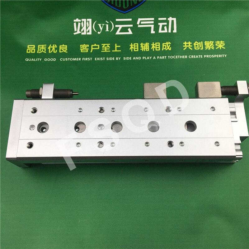 MXS16-50B MXS16-75B MXS16-100B MXS16-125B SMC guida di Scorrimento cilindro componenti Pneumatici
