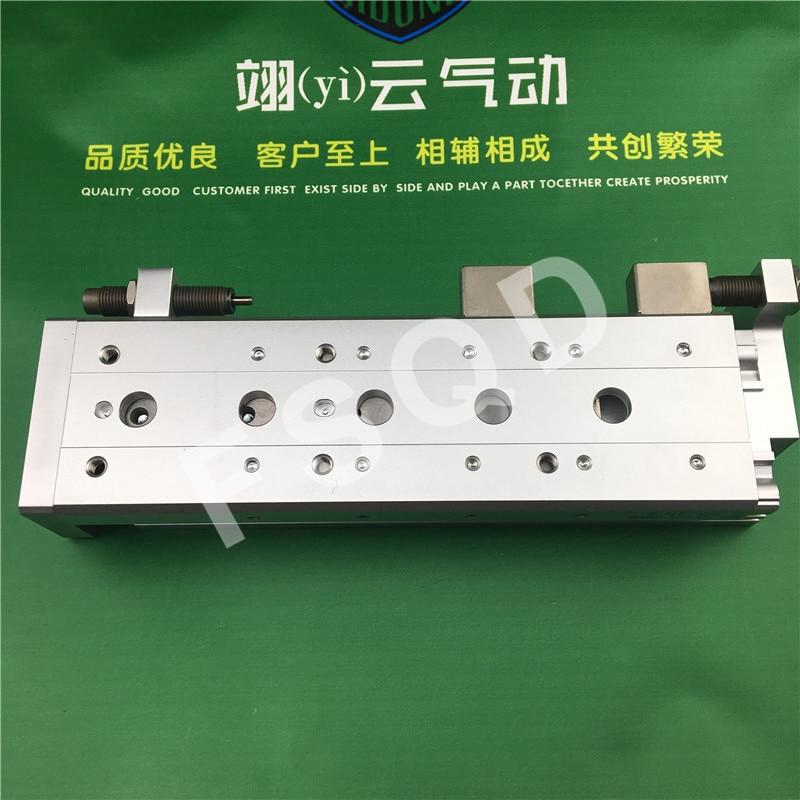 MXS16-50B MXS16-75B MXS16-100B MXS16-125B SMC rail Glissière de cylindre Pneumatique composants