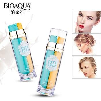 Do makijażu Bioaqua krem bb, fundacja, bb i podstawy w jedna butelka, podstawa, naturalne bband krem cc utrzymać skóra jest młoda i piękna