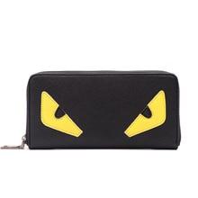 Designer Brieftaschen Geldbörse Frauen Kleine Geldbörse Frauen Kleine Monster Zip damen Leder Geldbörse