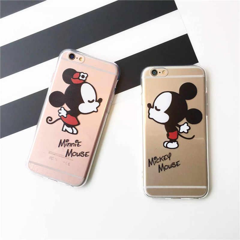 Funda de Movil Compatible con Iphone 7 Plus Modelo Minnie Mouse